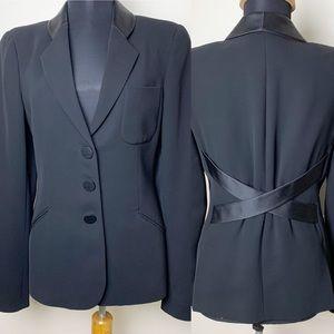 Giorgio Armani Black 3 button Blazer